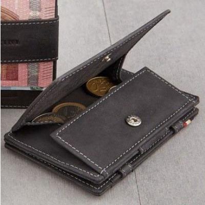 Geldbörse für Munzen RFID Essenziale | Schwarz
