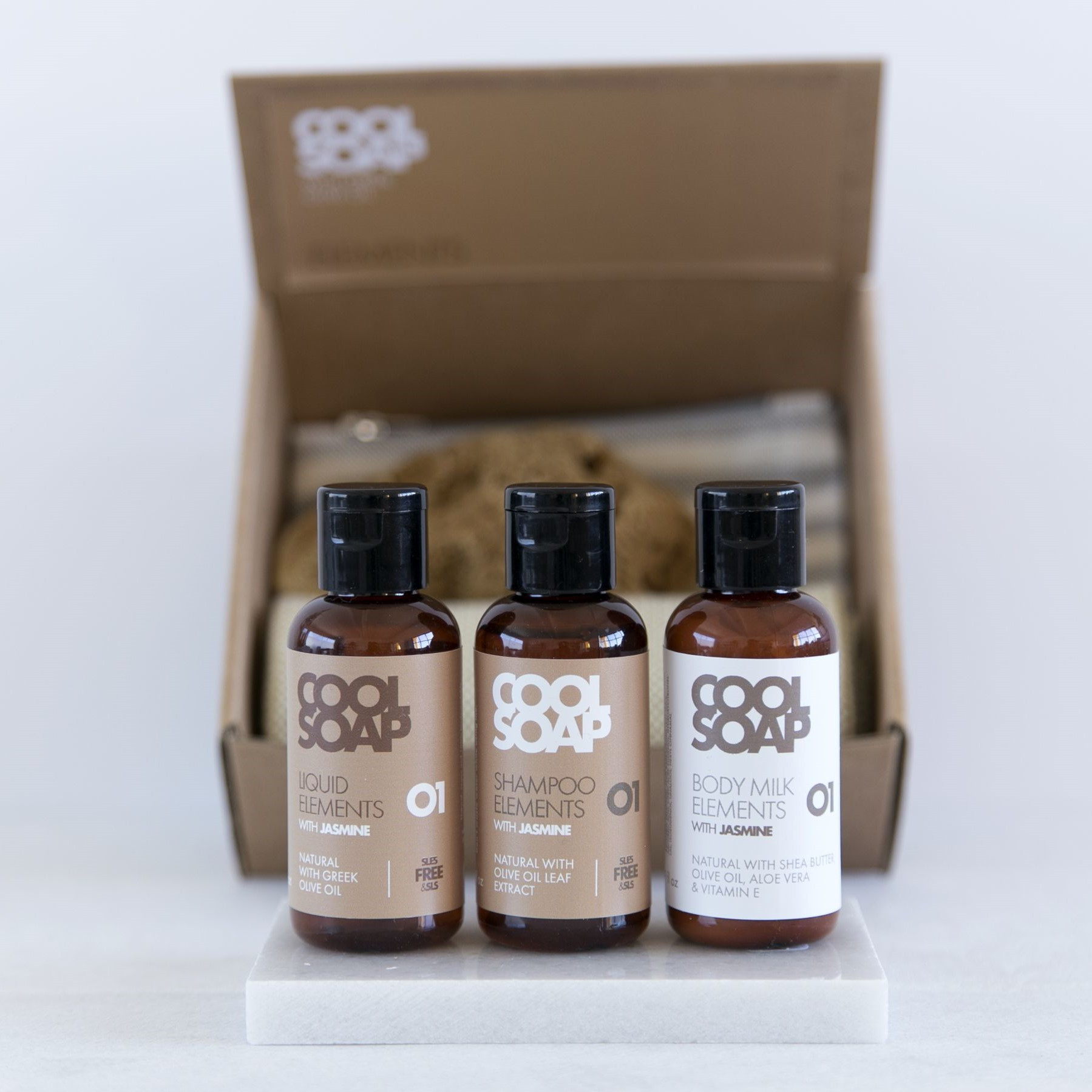 Giftbox   Savon, Shampouiner, Bodymilk   Jasmin