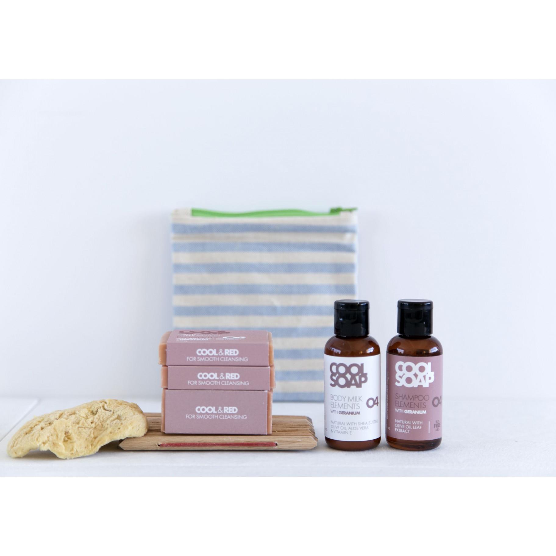 Geschenkbox | Shampoo, Körpermilch | Geranie