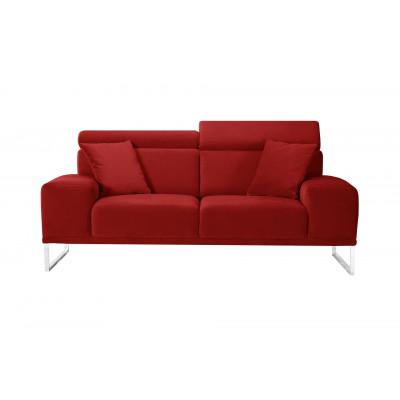 2-Sitzer-Sofa Georgia | Rot