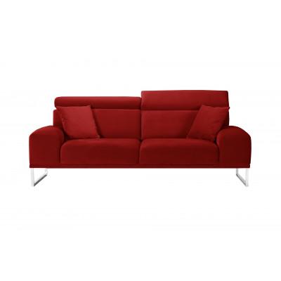 3-Sitzer-Sofa Georgia | Rot