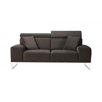 2-Sitzer-Sofa Georgia | Aschebraun