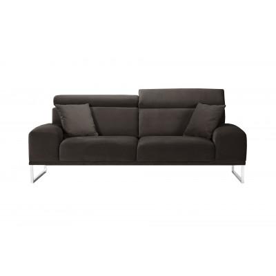 3-Sitzer-Sofa Georgia | Aschebraun