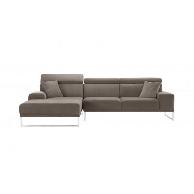 Linke Ecke Sofa Georgien | Taupe