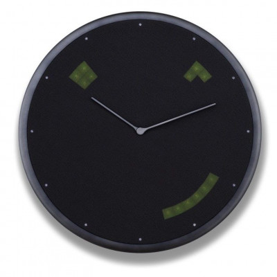 Full Colour Led Wall Clock Glance | Graphite