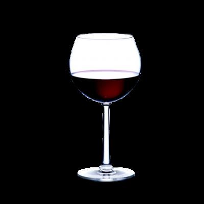 Burgundy Red Wine Glass | 2 Pieces