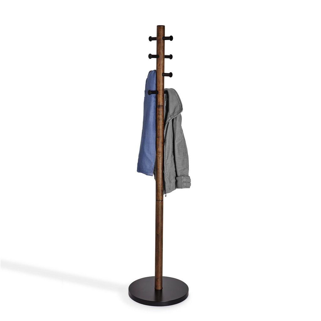 Kleiderständer Pillar   Schwarz Holz