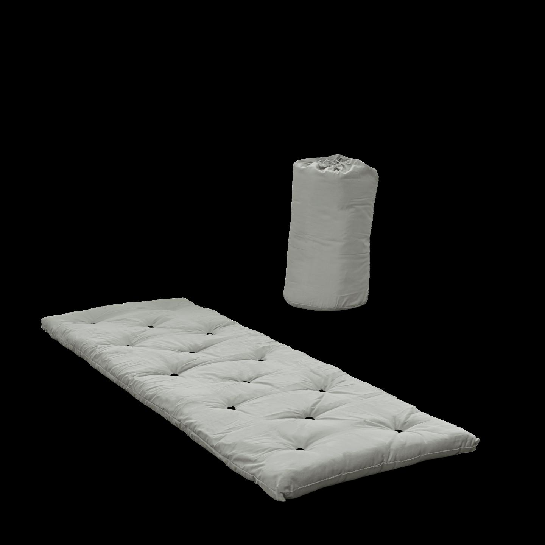 Bett in einer Tasche   Grau