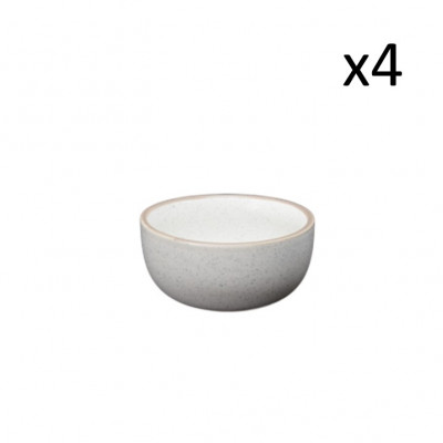 Schüssel Taber Ø 11 cm 4er-Set   Creme