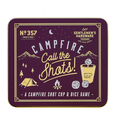 """Lagerfeuer """"Call the Shots""""-Spiel"""