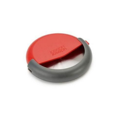 Pizza Cutter | Grey & Red