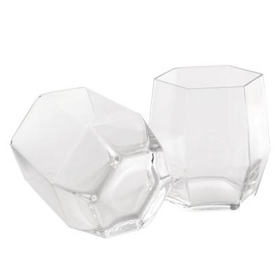 Geo Glass 2 Pack | Klar