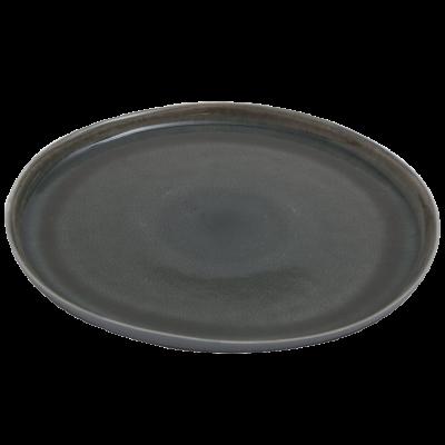 Speiseteller Prego Plain | Grau