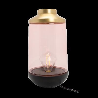 Tischlampe 22 cm Casablanca | Rose & Gold