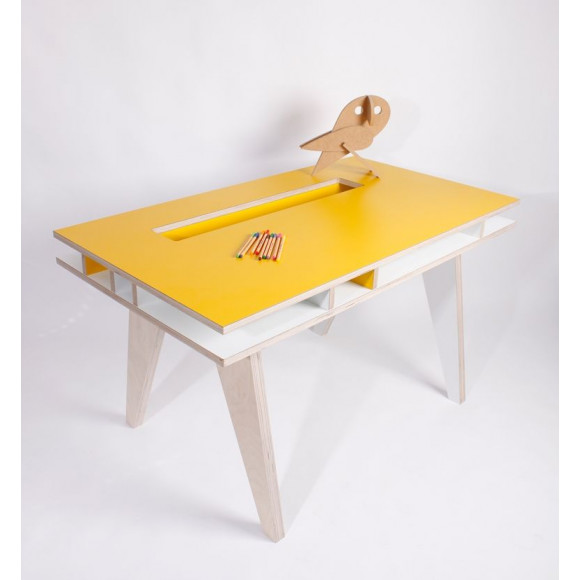 Kids desk Yellow