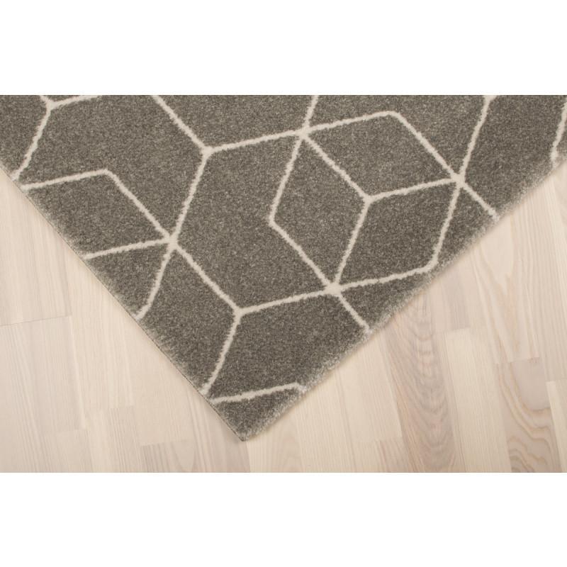 Teppich Gent   Grau-140 x 200 cm