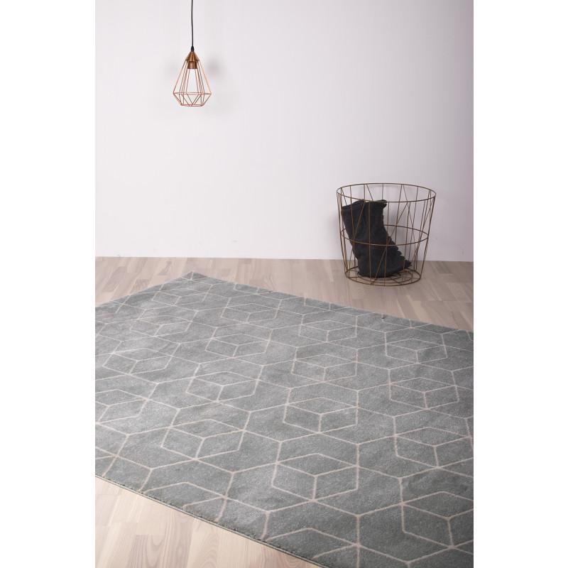 Teppich Gent | Hellblau-140 x 200 cm