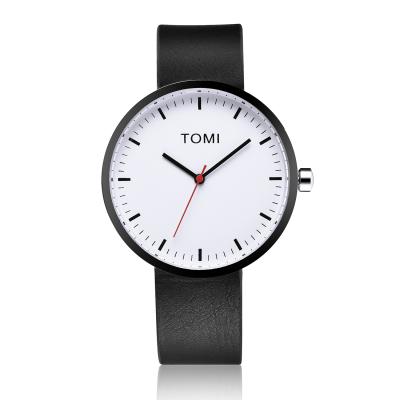 Tomi Watch | Black - White - Black
