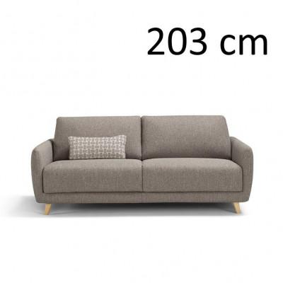 Sleeping Sofa Ghali L 203 cm | Grey