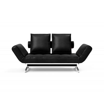 Tagesbett Ghia | Schwarze und verchromte Beine | Colli 2