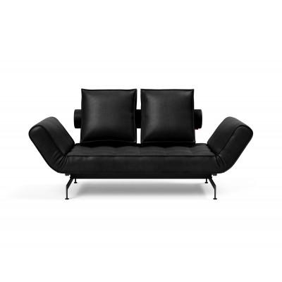 Tagesbett Ghia | Schwarze und matte schwarze Beine | Colli 2