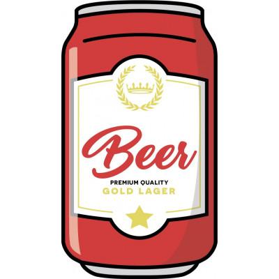 Beach Towel | Beer Can