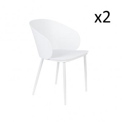 Stuhl Gigi - 2er Set | Weiß