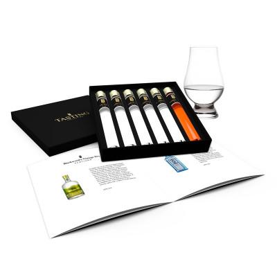 Gin Tasting Collection 6 Glasröhrchen in Geschenkbox 6.1
