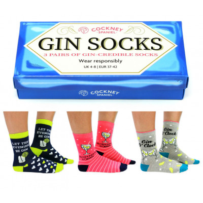 Socken Gin   6er-Satz