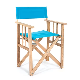 Director Chair   Turquoise