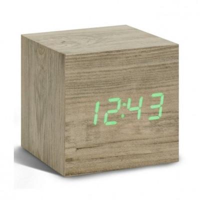 Würfel-Klick-Uhr | Esche &Grün