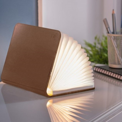 Smart Booklight Large   Brown PU