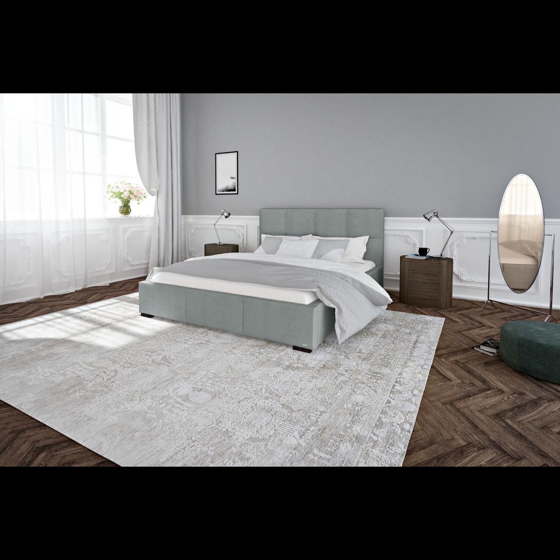 Bett Fascination | Grau-140 x 200 cm