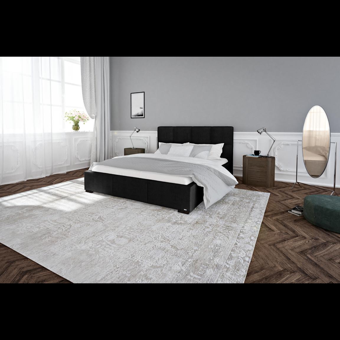 Bett Fascination   Schwarz-140x200cm