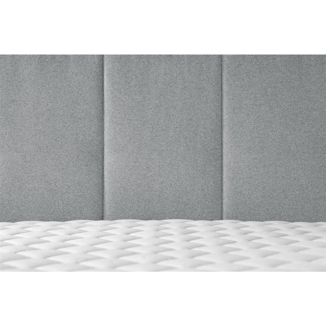 Bett Allure | Grau-140 x 200 cm