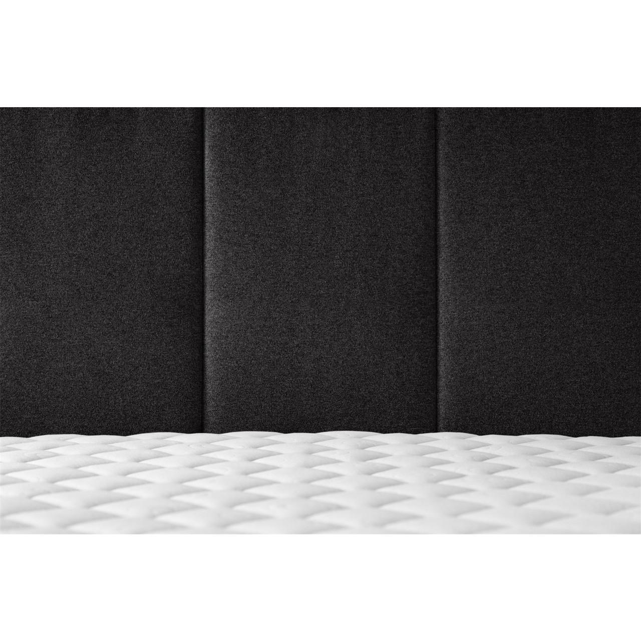 Bett Allure | Schwarz-140 x 200 cm