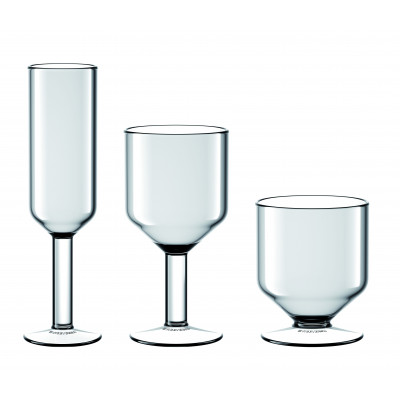 The Good Times Glasses Set of 6 | Transparent