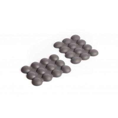Mehrzweck Anti-Rutsch-Matte Lebolle Kleines 2er Set | Taubengrau