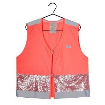 Fluo Vest Girls Gloria & Women | Coral