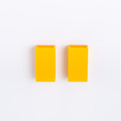 Zahnpasta-Halter Li Sto' 2er-Set | Gelb
