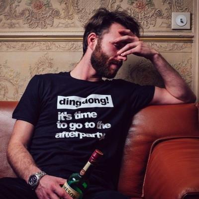 T-shirt | Männer | Es ist Zeit, zur Afterparty zu gehen
