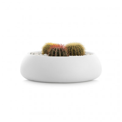 Pflanztopf Gobi 4 | Weiß