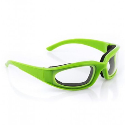 Tränenfreie Zwiebelbrille | Grün