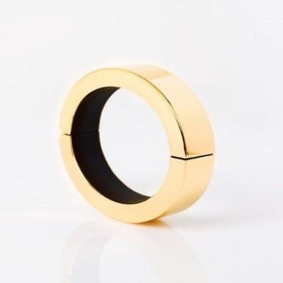 Q Bracelet   Polished Goud