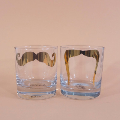 Gläser Inspector Poirot & Fu Manchu | 2er-Set