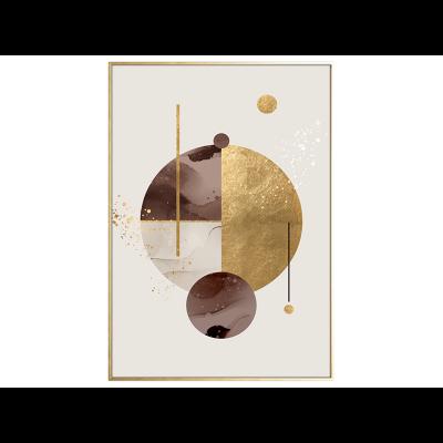 Malerei | Golden Circles
