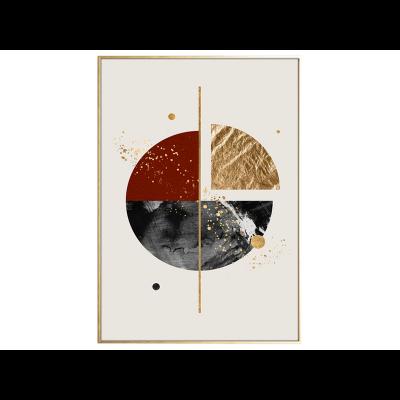 Malerei | Golden Piece