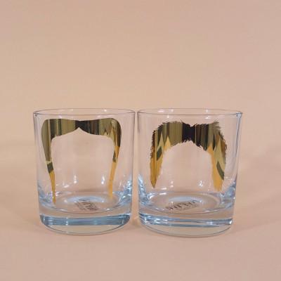 Gläser Fu Manchu & Magnum P.I. | 2er-Set
