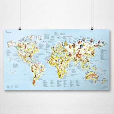 Weltkarte   Golf