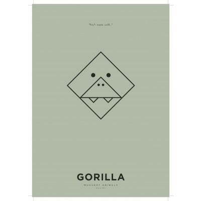Poster A3 | Gorilla